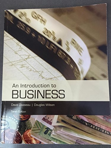 9781323274194: An Introduction to Business