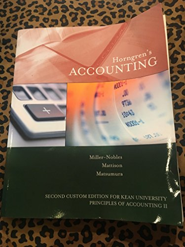 9781323440780: Horngren's Accounting