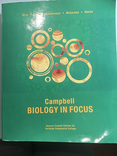 Campbell Biology In Focus 2nd Custom Edition For Portland Community College Lisa A Urry