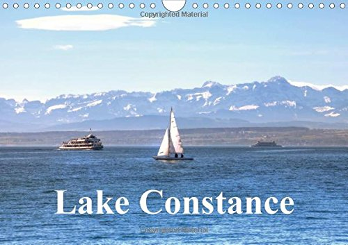 9781325003532: Lake Constance (Wall Calendar 2015 DIN A4 Landscape): A photographic excursion at the picture-perfect Lake Constance (Monthly calendar, 14 pages) (Calvendo Places)