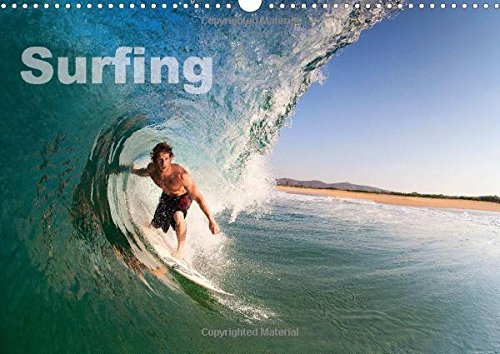 9781325005109: Surfing 2015: A year in the surf from the Arctic Circle to the Tropics... (Calvendo Sports)