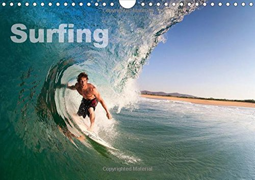 9781325005116: Surfing (Wall Calendar 2015 DIN A4 Landscape): A year in the surf from the Arctic Circle to the Tropics... (Monthly calendar, 14 pages) (Calvendo Sports)
