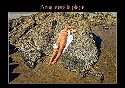Anna Nue à La Plage Livre Poster Din: Baron Alain