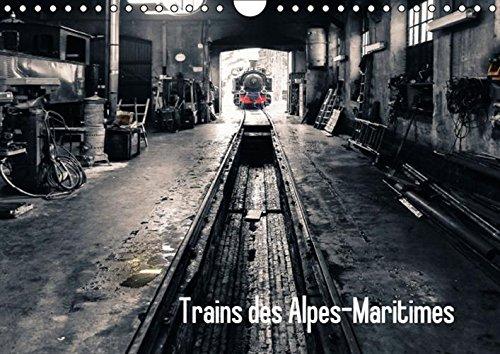 Trains des Alpes-Martimes: Merveilles des Trains a Vapeur Dans les Alpes Maritimes (Calvendo ...