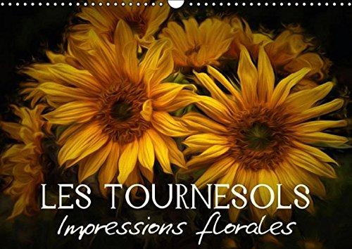 Les Tournesols Impressions Florales: Egayez Votre Quotidien ! (Calvendo Nature) (French Edition): ...