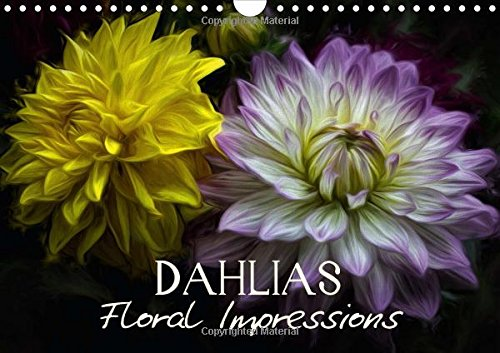 9781325054589: Dahlias Floral Impressions (Wall Calendar 2016 DIN A4 Landscape): Art Calendar - Photographic impressions of nature (Monthly calendar, 14 pages) (Calvendo Nature)