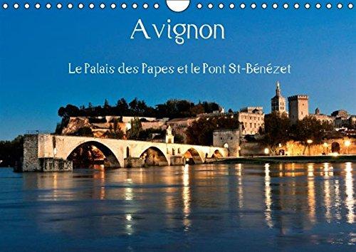 Avignon le Palais des Papes et le Pont St-Benezet: Avignon, au c/Ur de la Provence, Ville ...
