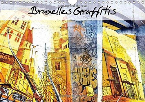Bruxelles Graffitis: De Magnifiques Graffitis Decorent Les Murs Le Long Des Transports En Commun Du...