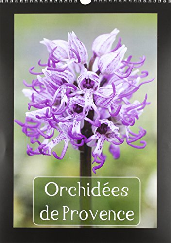 Orchidees de Provence: Orchidees Rencontrees dans les Alpilles et le Luberon (Calvendo Places) (...