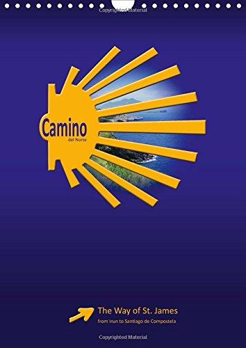 9781325062997: Camino del Norte / UK-Version: The Way of St. James from Irun to Santiago de Compostela (Calvendo Places)