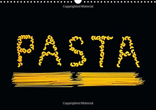 9781325064250: Pasta / UK-Version: Photographs of Pasta (Calvendo Food)