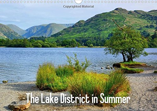 9781325065325: The Lake District in Summer / UK-Version: Summer Impressions from the Lake District in Cumbria (Calvendo Nature)