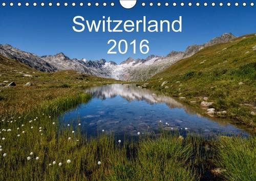 9781325076901: Switzerland Mountainscapes 2016: A Journey Through the Beautiful Swiss Mountain Scenery in Four Seasons (Calvendo Places)