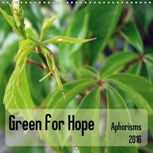 9781325078615: Green for Hope 2016: Reflections about Hope (Calvendo Nature)