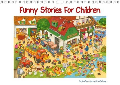 9781325083183: Funny Stories for Children: A Brightly Coloured Calendar, Designed with Love. Every Month, a New Challenge: Finding the Hidden Object!