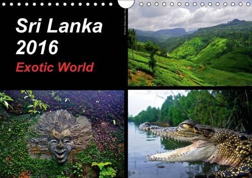 9781325084555: Sri Lanka 2016 Exotic World 2016: Impressive and exotic landscapes of Sri Lanka (Calvendo Nature)