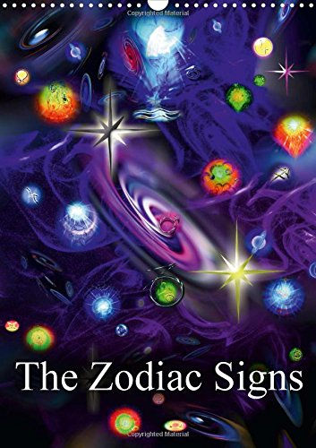 9781325084715: The Zodiac Signs 2016: The Zodiac Signs in a Brilliant Combination of Colors. Experience the Artistic Dimensions of Space and Time in the World of the Artist