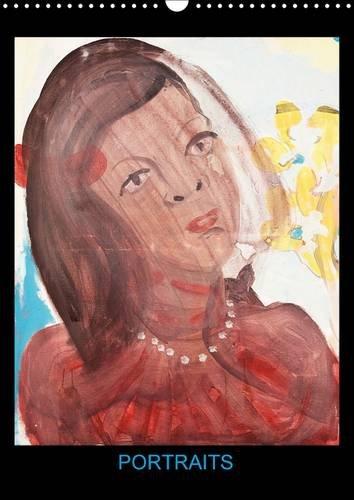 Portraits: Peintures Acryliques de Hanna Schwingenheuer (Calvendo Art) (French Edition): Hanna ...