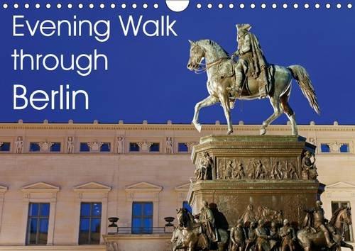 9781325091836: Evening Walk through Berlin 2016: Berlin at Night (Calvendo Places)