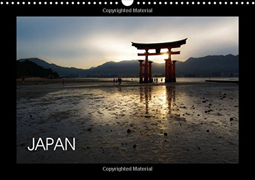9781325099177: Japan (Wall Calendar 2016 DIN A3 Landscape): Travel calendar (Monthly calendar, 14 pages) (Calvendo Places)