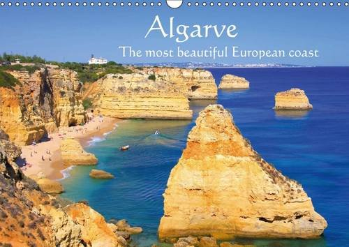 9781325100125: Algarve - The most beautiful European coast (Wall Calendar 2016 DIN A3 Landscape): Some of the wide sandy beaches in Portugal (Monthly calendar, 14 pages) (Calvendo Places)