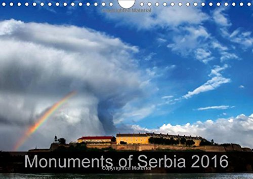 9781325102082: Monuments of Serbia 2016: The Best Photos from Wiki Loves Monuments, the World's Largest Photo Competition on Wikipedia (Calvendo Places)