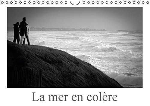 La Mer en Colere: Le Mouvement de la Mer et de la Tempete (Calvendo Places) (French Edition): ...