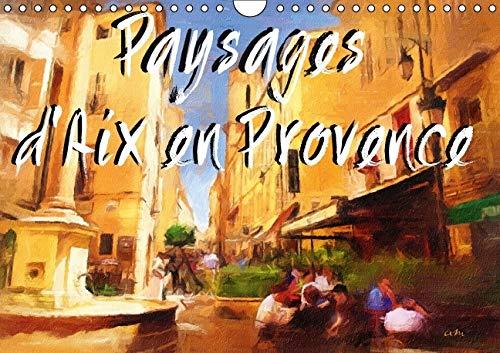 9781325104901: Paysages d'Aix en Provence: Serie de 12 Tableaux, d'Antoine Marino, pour Partager le Charme Pittoresque du Patrimoine Architectural Aixois.