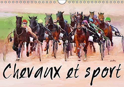 Chevaux et Sport 2016: Serie de 12 Tableaux pour Mettre en Valeur la Beaute des Pur Sang en Action....