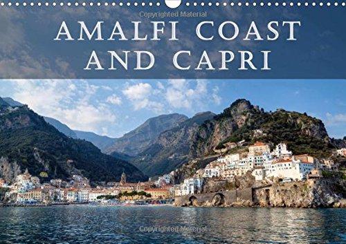 9781325106752: Amalfi Coast & Capri 2016: The Amalfi Coast and the island Capri are thought to be one of the most beautiful Mediterranean regions. (Calvendo Places)