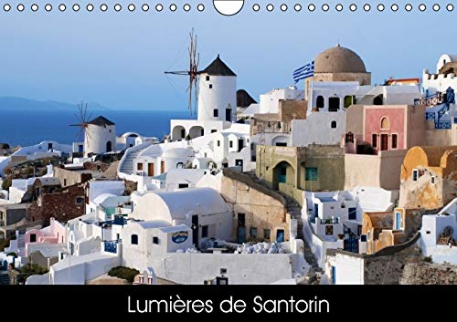 9781325111671: Lumieres de Santorin 2016: Photos de Santorin en Grece (Calvendo Places) (French Edition)