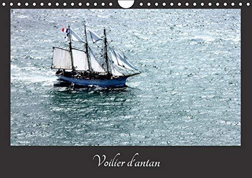 9781325112227: Voiliers d'antan : Photos a�riennes d'anciens voiliers. Calendrier mural A4 horizontal 2016 (Calvendo Mobilite)