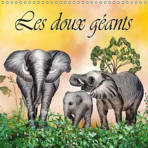Les Doux Geants 2016: Dessins au Crayon de Couleur (Calvendo Art) (French Edition): Dusanka Djeric