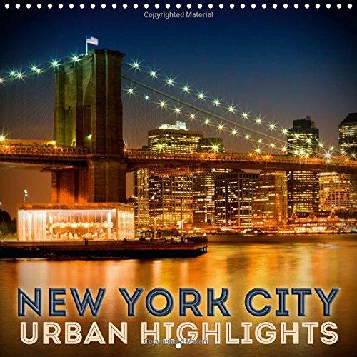9781325114573: New York City Urban Highlights 2016: Gorgeous Manhattan Impressions (Calvendo Places)