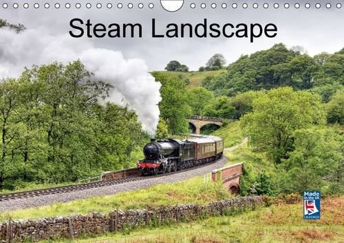 9781325117550: Steam Landscape 2016: British Steam Locomotives Pictured in Beautiful Landscape at Various Locations Around England