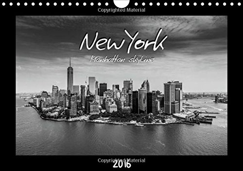 9781325117789: NEW YORK - Manhattan skyline 2016 2016: View on NEW YORK City from skyscrapers, bridges and helicopters (Calvendo Places)