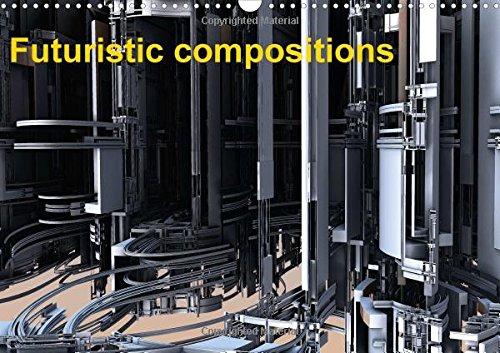 9781325121410: Futuristic compositions 2016: Buildings and constructions textures . (Calvendo Places)