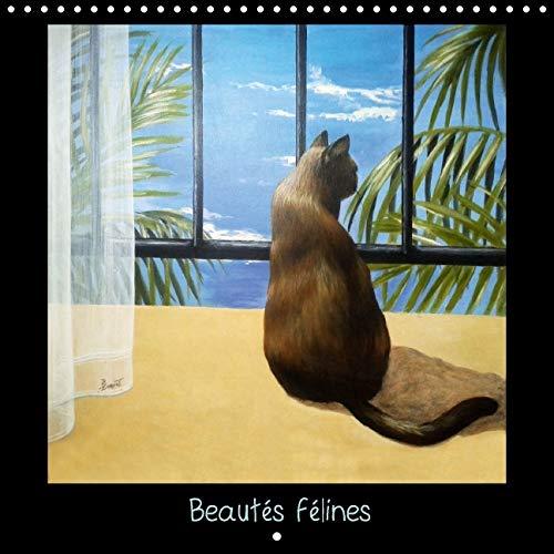 Beautes Felines 2016: Peintures et Pastels (Calvendo Animaux) (French Edition): Brigitte Dumont