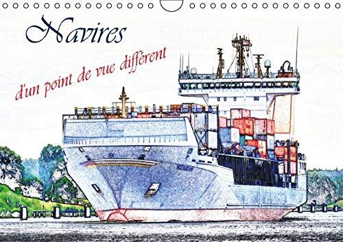 9781325124688: Navires d'un point de vue different 2016: Une selection des navires a passagers et cargos, d'un point de vue artistique. (Calvendo Mobilite)