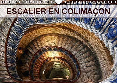 Escalier in Colimacon 2016: Creation Graphique de Tableaux de Peinture a l'Huile (Calvendo Art...
