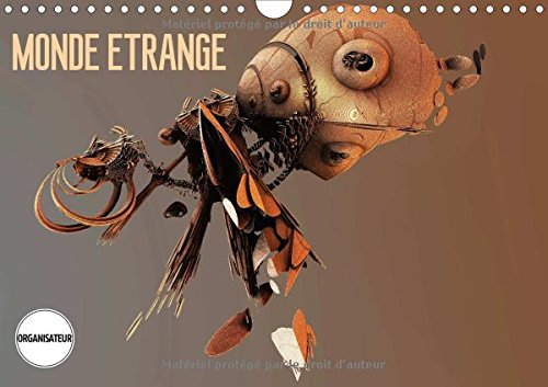 Monde Etrange 2016: L'Art Numerique (Calvendo Art) (French Edition): Redinard