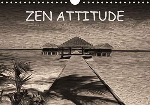 Zen Attitude 2016: Composition Graphique de Tableaux en Peinture Numerique, sur le Theme de la Zen ...