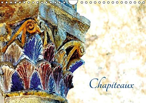 Chapiteaux (Calendrier mural 2016 DIN A4 horizontal): Chapiteaux de l'abbatiale de Conques (...