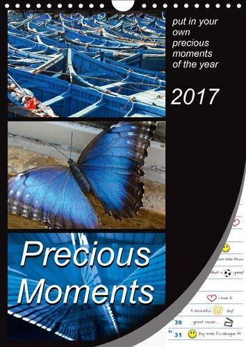9781325135370: Precious Moments - Put in Your Own Precious Moments 2017: Collect Your Own Special Moments of the Year. Enjoy 12 Wonderful Colour Combinations Which Will Lead You Through the Whole Year (Calvendo Fun)