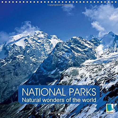 9781325140930: National Parks - Natural Wonders of the World der Natur 2017: Fascinating Conservation Areas Around the World (Calvendo Nature)