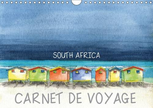 9781325145249: SOUTH AFRICA - CARNET DE VOYAGE - UK VERSION (Wall Calendar 2017 DIN A4 Landscape): Travel Sketches, Watercolours of Southern Africa (Monthly calendar, 14 pages ) (Calvendo Places)