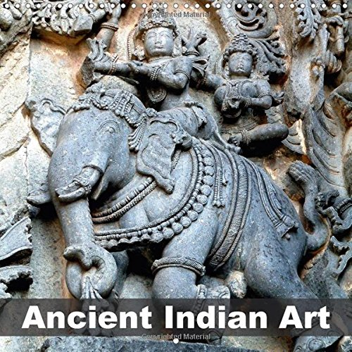 9781325158614: Ancient Indian Art (Wall Calendar 2017 300 × 300 mm Square): Hindu art in medieval South India (Monthly calendar, 14 pages ) (Calvendo Art)