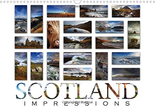9781325164561: Scotland Impressions 2017: 240 Beautiful Impressions of Scotland (Calvendo Places)