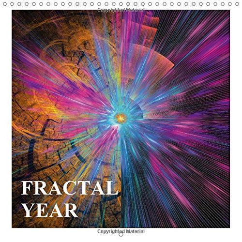 9781325165513: Fractal Year 2017: Through the Year with 13 Fractals (Calvendo Nature)