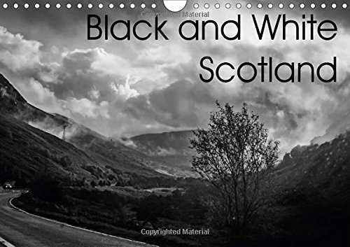 9781325172641: Black and White Scotland 2017: Scotland in Monochrome (Calvendo Nature)
